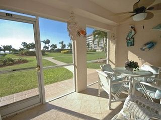 Bonita Springs condo photo - Private screened Lanai