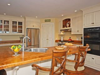 Collingwood estate photo - Gourmet kitchen with 2 ovens and gas stove