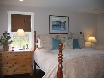 Madaket house rental - Master suite with Westin Heavenly bed