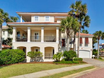 Destiny by the Sea house rental - 5 bedroom, 6 bathrooms, elevator, golf cart, 6 flat screen TV's, Bose Surround.