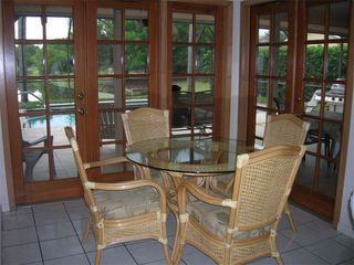 Bradenton house photo - Dining Area Opens to Lanai via French Doors