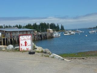 Owls Head house photo - Enjoy Lobster within walking distance at Owl's Head Wharf