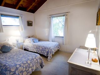 Westport Island cottage photo - Second floor bedroom-water view