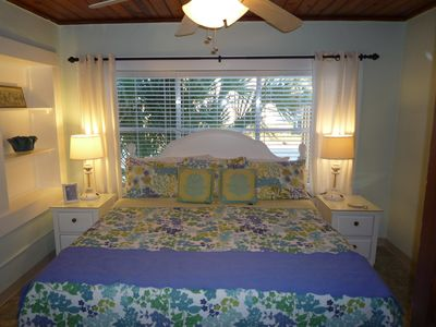 Celadon Beach Resort cottage rental - 2nd Full Size Bedroom ~ King Size Bed