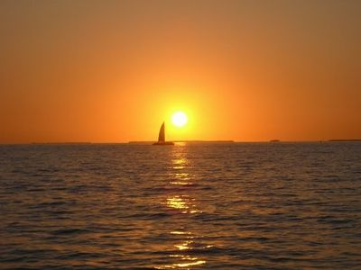 Key West house rental - View from the sunset cruise! :)