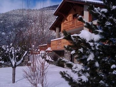 Chalet Seez in typical Savoyard village, luxury accommodations, stone/wood
