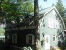 Front of house. - Fairlee house vacation rental photo