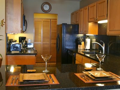Kitchen remodeled in Sept 2012. Granite counters, new applicances, fully fitted.