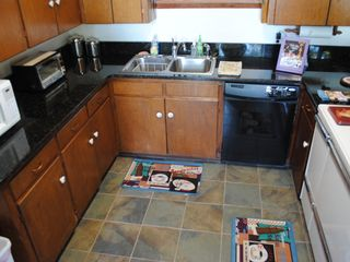 Guntersville Lake house photo - Kitchen- granite counter-top, tile floor. 2012