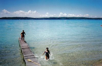 Private dock on Torch Lake
