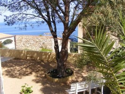 Apartment of 80m2 ground villa with sea view