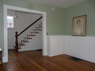 Bar Harbor house photo - Living room / Stairway