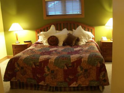 Boyne Mountain condo rental - Master Bedroom