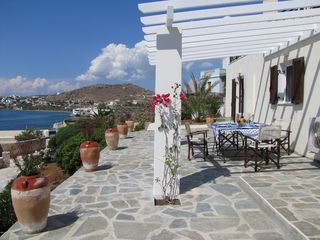 Syros apartment photo - Outdoor dining perfection