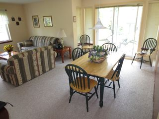 Mont Tremblant townhome photo - Dining Room and Living Room