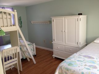 Harwich - Harwichport house photo - The kids will love the bunk beds with plenty of storage and air conditioning.