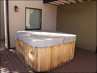Vail townhome photo - Private Outdoor Hot Tub