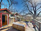 Deck - Enjoy warm Austin evenings on the 2nd-story deck, complete with ample seating and entertainment space.