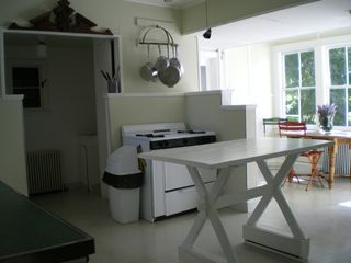 Southampton farmhouse photo - Kitchen with Breakfast Area