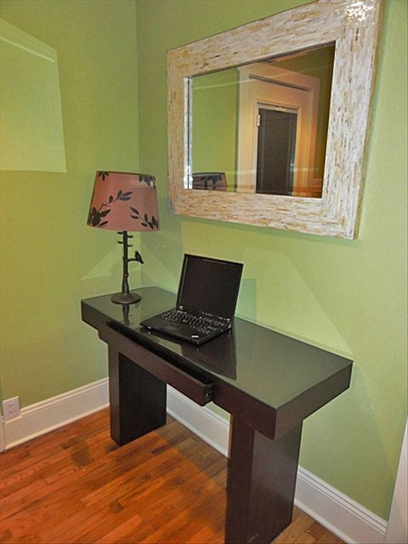 Your Personal Office with Sold Wood Desk, Storage Drawer and Wireless!!!