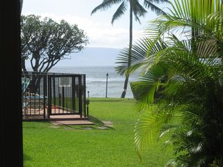 Honokowai condo photo - Amazing View from the Lanai