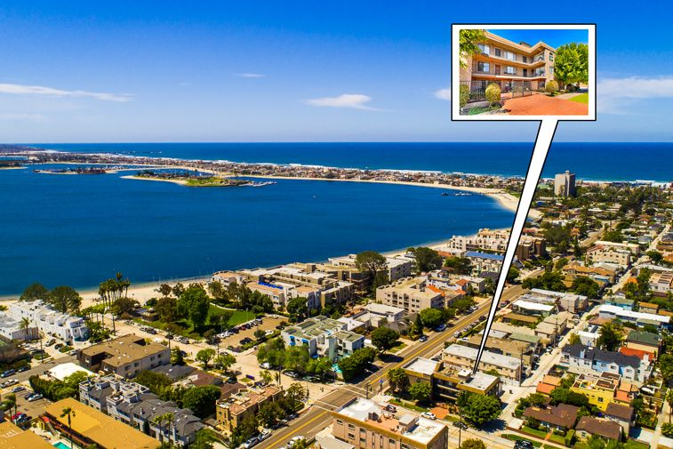 Coveted Location,2nd Floor Condo Steps from the Water, Shopping & Restaurants
