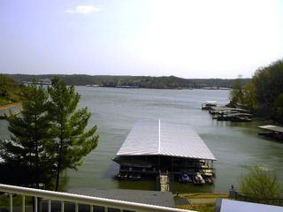 view off deck overlooking lake/listen to wind and surf - Osage Beach villa vacation rental photo