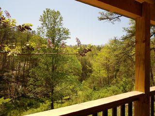 Pigeon Forge cabin photo - Views of the surrounding Wears Valley Hills of the Smoky Mountains of Tennessee