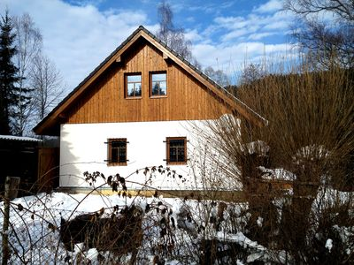 Cozy holiday accommodation in the Bohemian Forest under the Karlsberg Castle