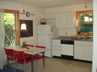 Bass Harbor house photo - Kitchen with dining table