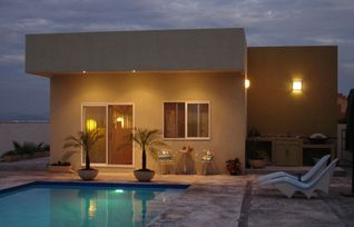La Paz cottage photo - Pool, patio and front of your home away
