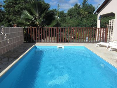 5 minutes from the beach and the town: beautiful semi-detached house with swimming pool salt