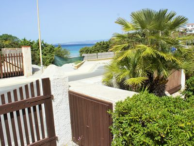 Villa 30 meters from the beach