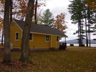 Ossipee Lake cottage photo - View of cottage and lake