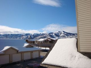 Park City condo photo - Look at the mountain view while using the grill on the deck