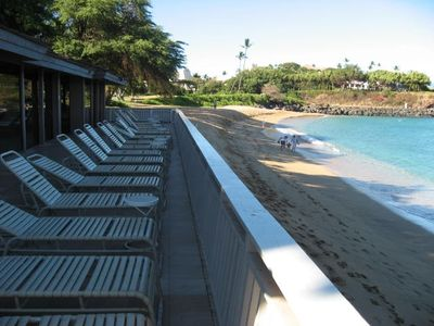 Private Beach Cabana (for guests of the Maui Eldorado Only)
