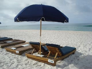 Ocean Reef condo photo - You have a FREE beach service - 2 chairs and umbrella - for your beach central!