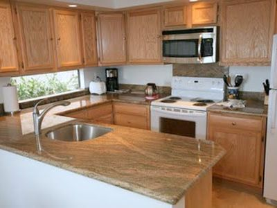Fully equipped kitchen for cooking and dining at home.
