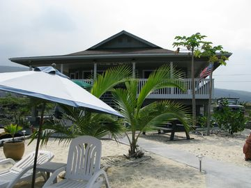 Front of House from Beach