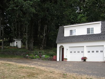 Carriage House Rental at White Cloud School a Wine County Retreat