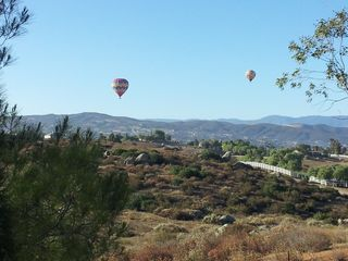 Hot air ballons, view out 17 ft glass door. Amazing mornings & starry nights! - Temecula house vacation rental photo