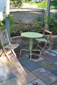 cute patio dining