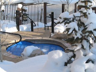 Deer Valley condo photo - Hot Tub located directly outside the ski locker room