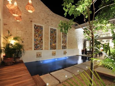 Courtyard Garden with Private Pool