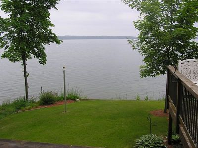 lakeview from deck and cabin