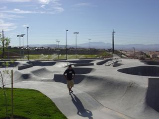 Las Vegas house photo - 53acre park, walking distance, skatepark, roller hockey, playground,baseball,etc