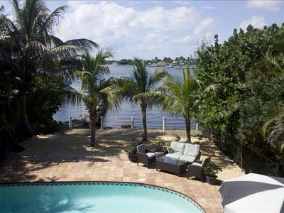 intracoastal in back yard