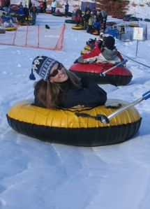 Snow Tubing at Gorgoza Park
