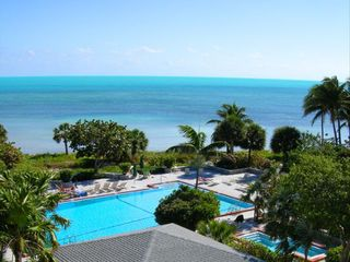 Key West condo photo - Overhead view of Oceanfront Swimming Pool