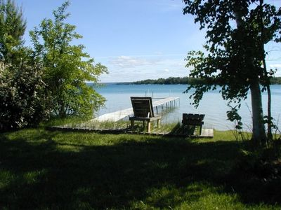 Dock and Part of 175' of Elk Lake Frontage